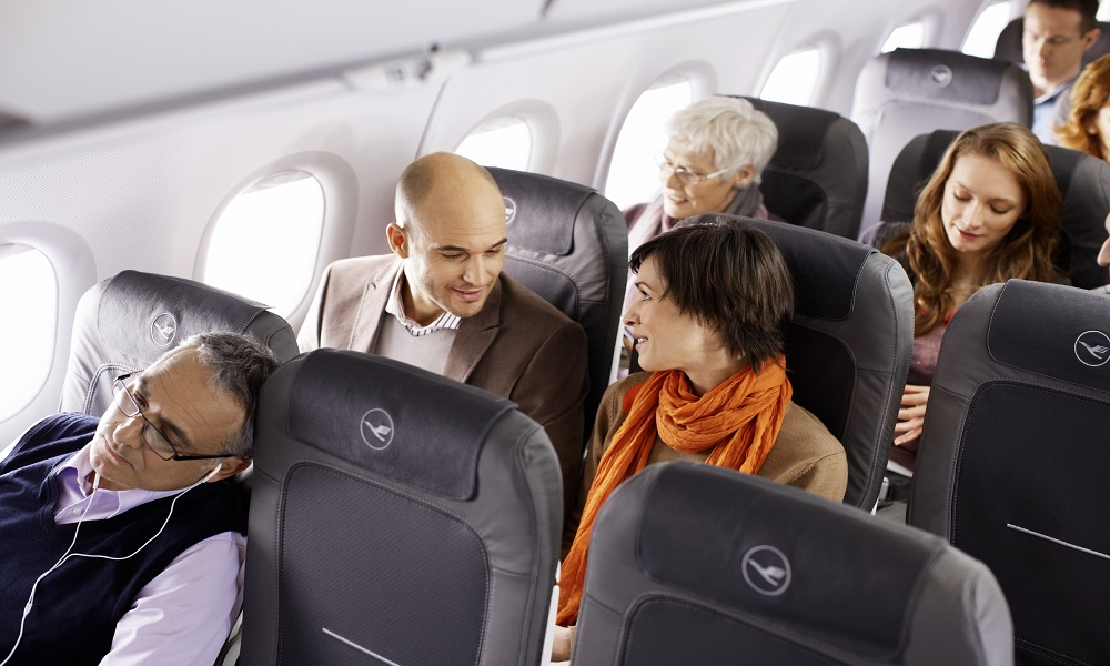 Tipa para evitar el sindrome de clase turista en vuelos