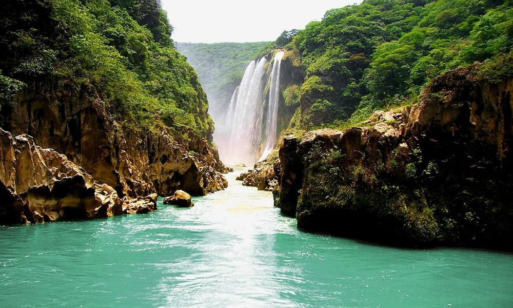 Tips para visitar la Huasteca Potosina guía para novatos cascadas_de_tamul_slp_naturaleza