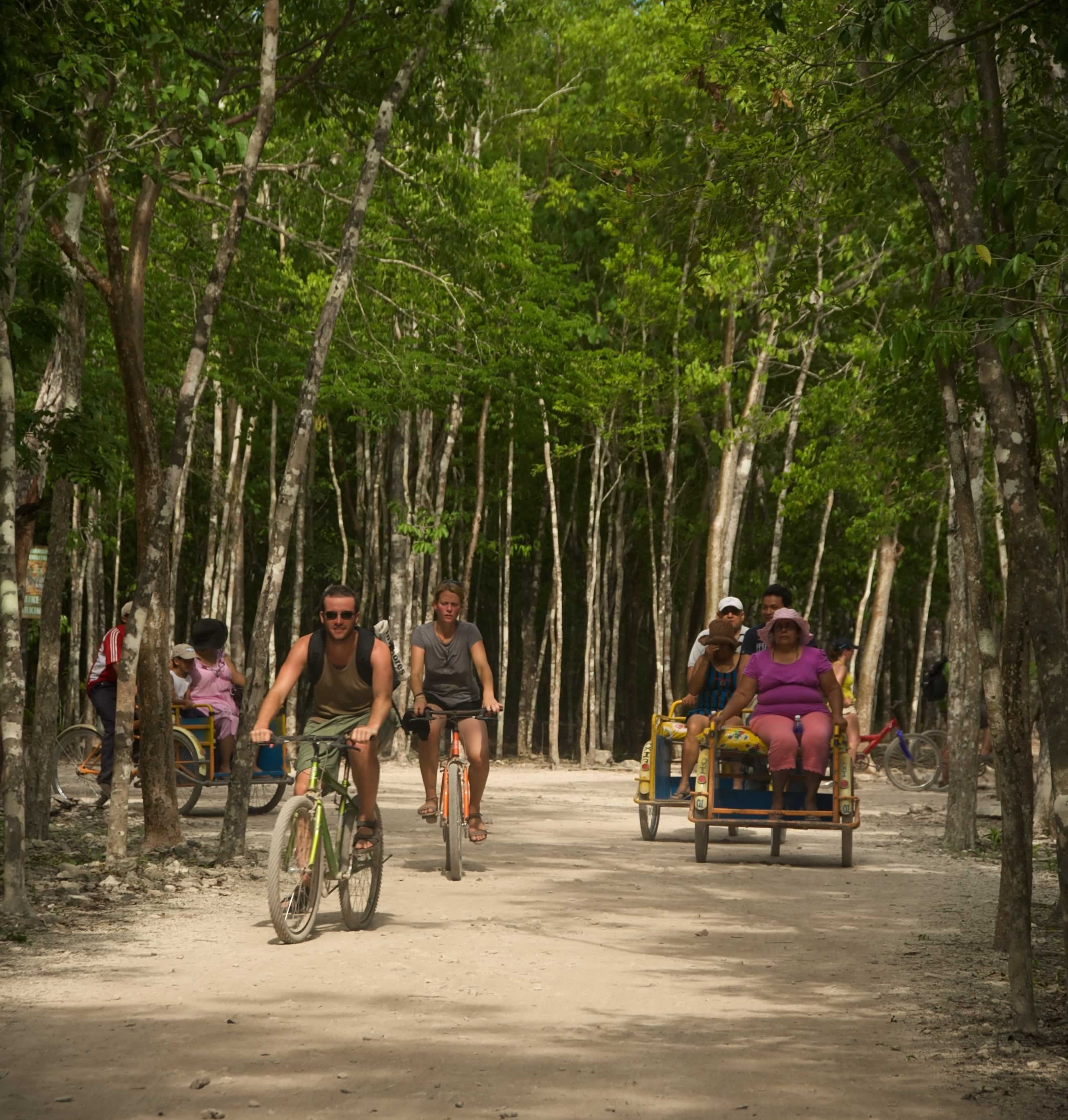Xichen, tours por el mundo maya Cobá