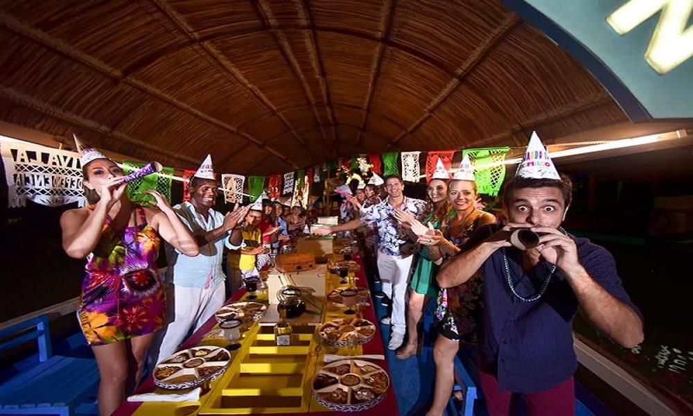 Xoximilco, una fiesta en trajinera4