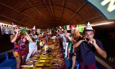 Xoximilco, una fiesta en trajinera