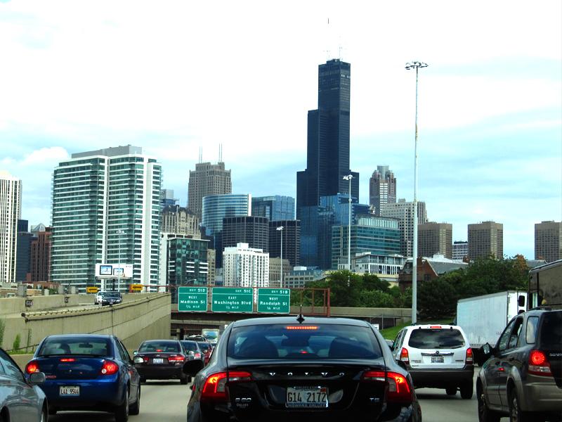 cómo llegar a Chicago auto