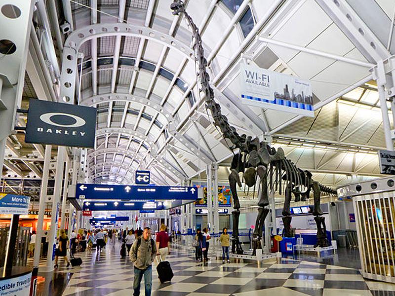 cómo llegar a Chicago en avión