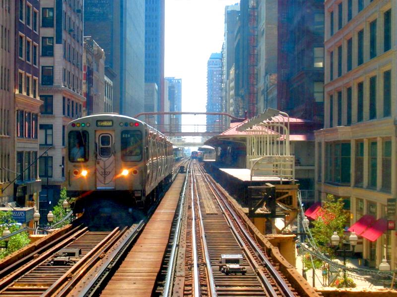 cómo llegar a Chicago cta