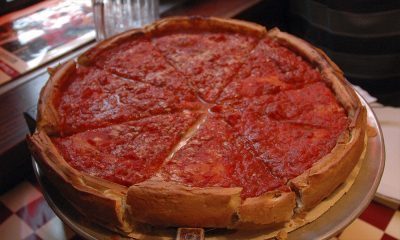 Deep Dish Chicago Pizza donde comer en chicago
