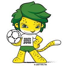 zakumi sudafrica 2010 mascotas mundiales futbol