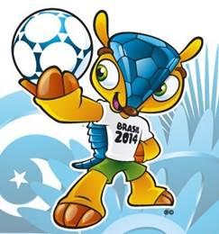 Mascotas Mundiales Fuleco Brasil 2014