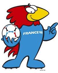 footix francia 98 mundiales futbol