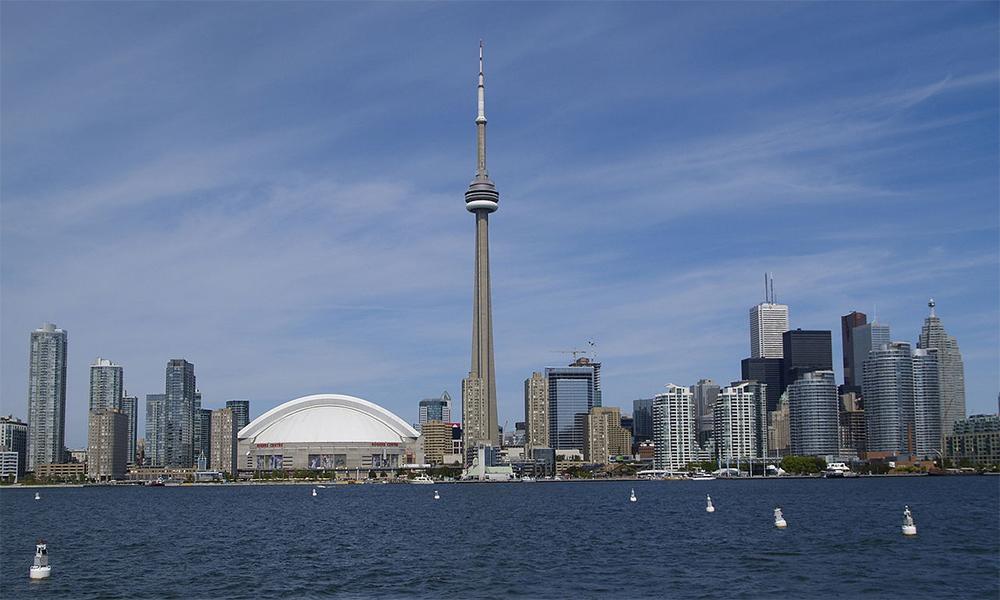Toronto Skyline Cn Tower Torre