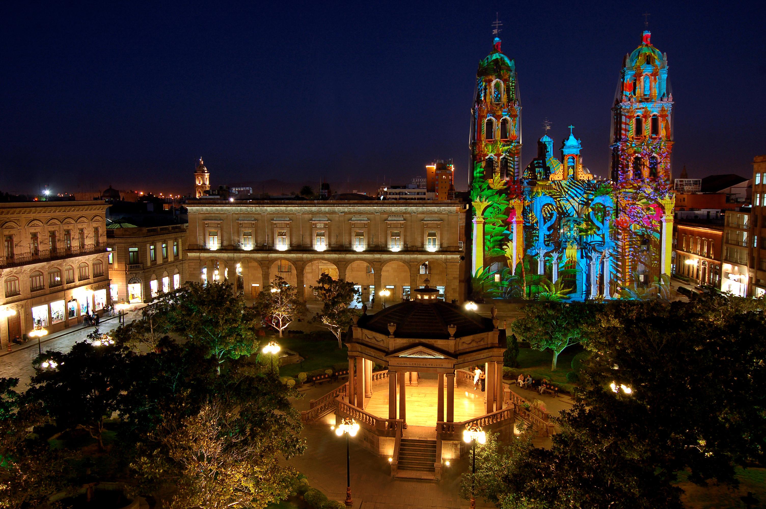 El ABC de la ciudad San Luis Potosí Plaza_de_Armas