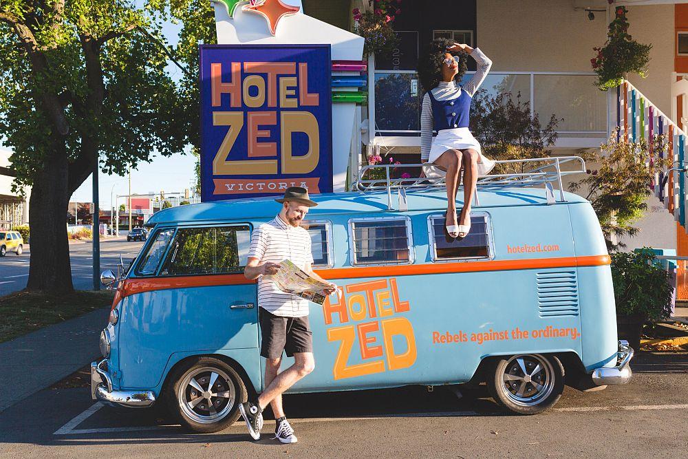Hoteles inspirados en comics alrededor del mundo Hotel ZED Canada 2