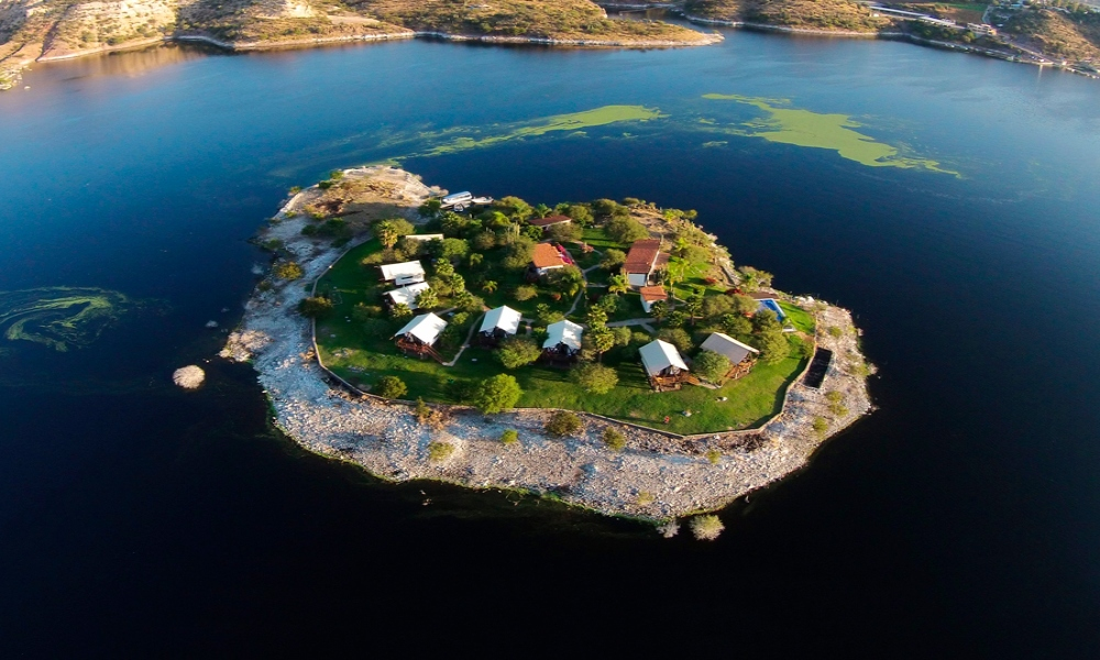 Una isla cerca de la CDMX