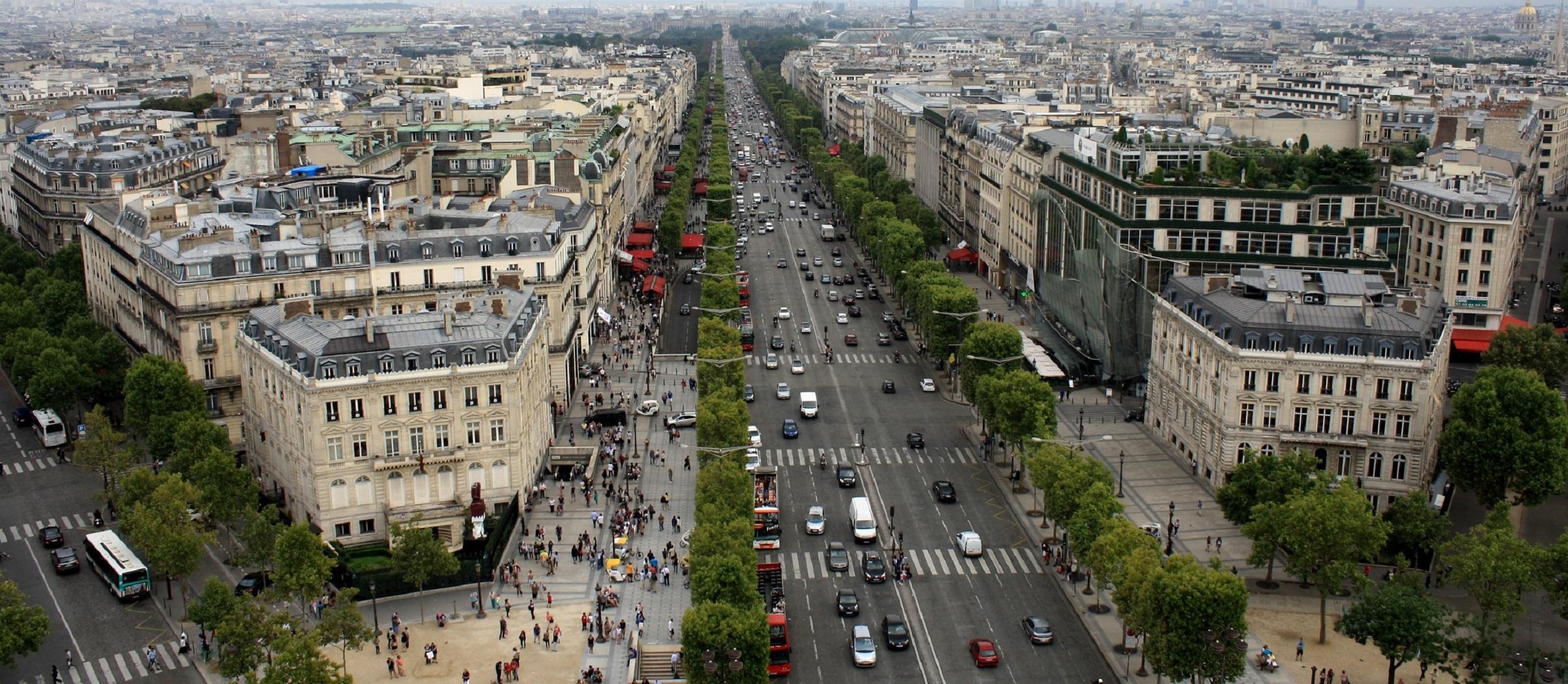 Las calles más famosas y espectaculares del mundo Champs elysee