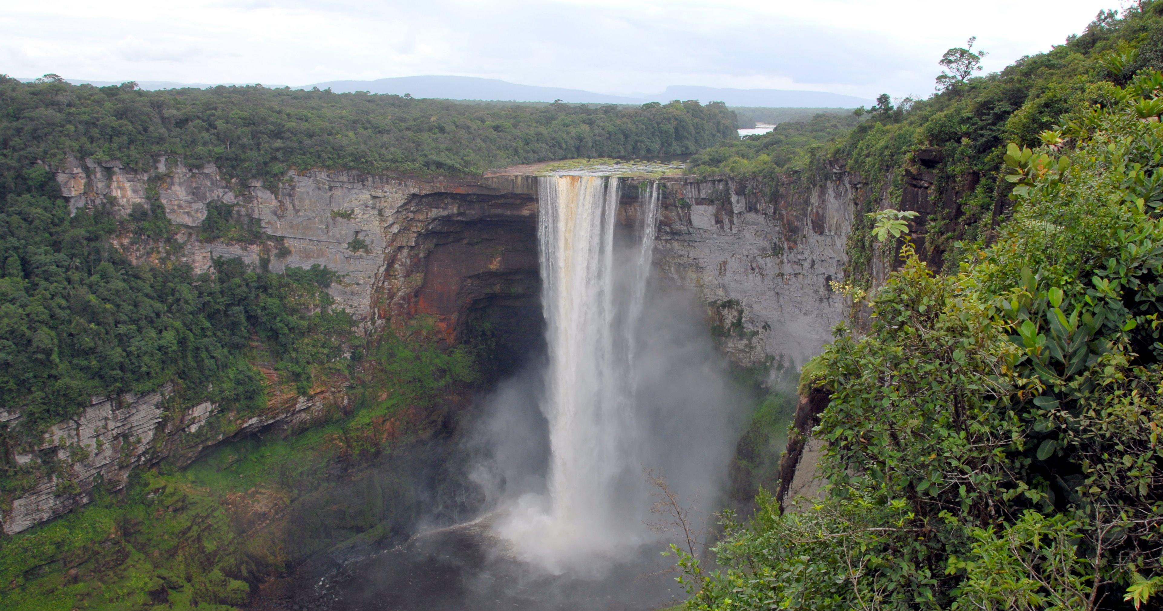 Las cataratas más instagrameables del mundo Kaieteur