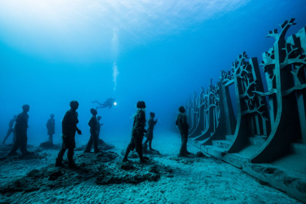 Самые невероятные подводные музеи в мире