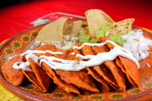 Qué comer en Xilitla, enchiladas potosinas