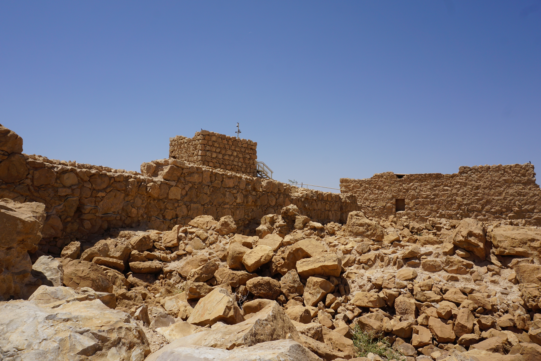 las fortalezas más increibles del mundo masada