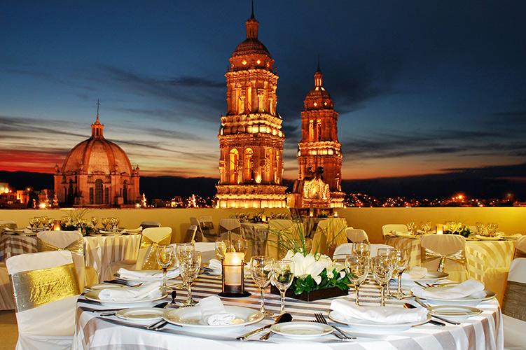 los mejores hoteles para parejas en Zacatecas