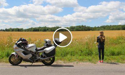 Guadalupe Araoz la motociclista viajera que recorre el mundo 1