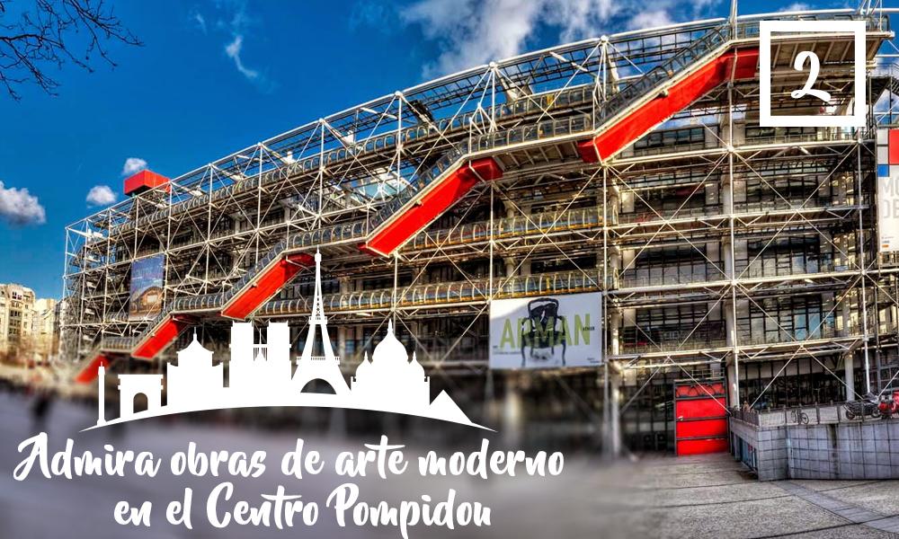 Admira obras de arte moderno en el Centro Pompidou-Qué hacer en París en una segunda visita