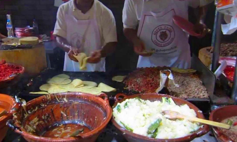 antojitos en la Ciudad de México: Los Chupacabras