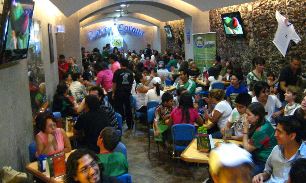 antojitos en la Ciudad de México: El Salón Corona