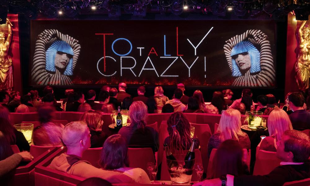 Cabarets enParís cuando ya fuistea Moulin Rouge:Crazy Horse