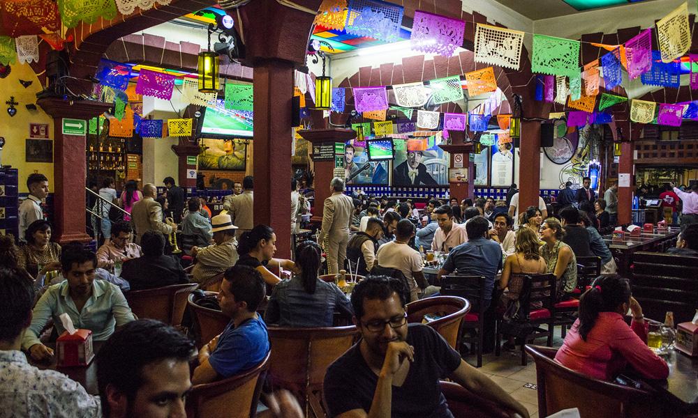 Cantinas en la Ciudad de México converdadera tradición: El Salón Tenampa