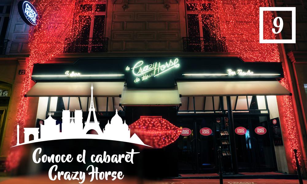 Conoce el cabaret Crazy Horse-Qué hacer en París en una segunda visita