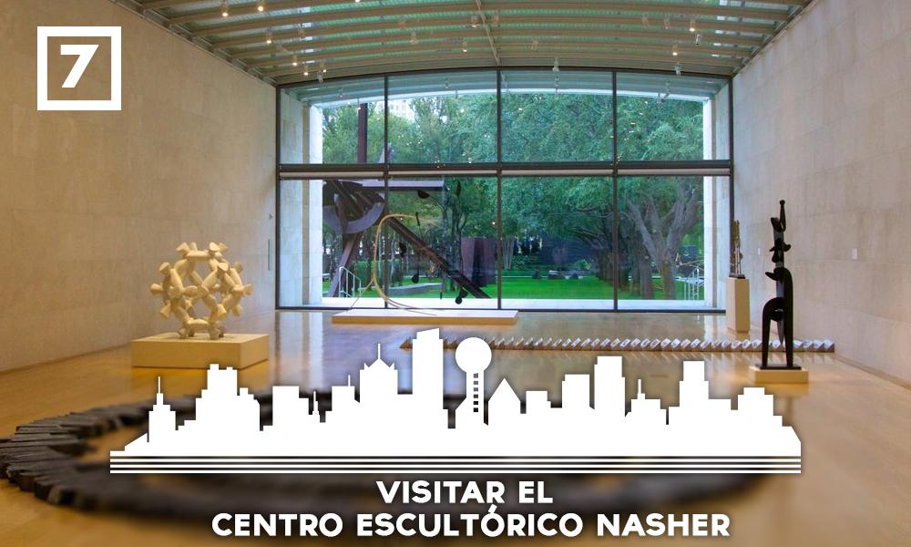 Las mejores cosas que hacer en Dallas - Visitar el Centro Escultórico Nasher