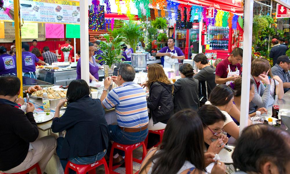 Mercados en la Ciudad de Méxicopara comer sabroso: Mercado de Coyoacán