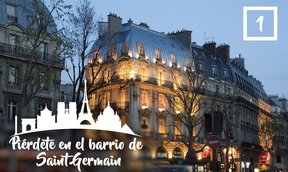 Piérdete en el barrio de Saint Germain -Qué hacer en París en una segunda visita