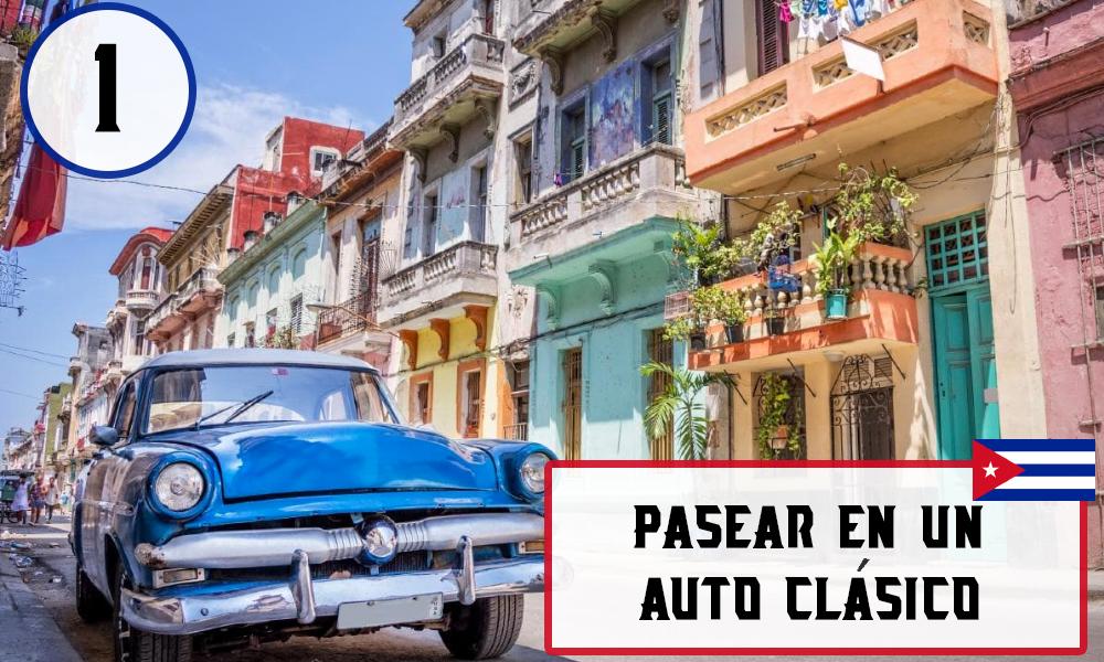 Qué hacer en La Habana, Cuba - #1 Pasear en un auto clásico