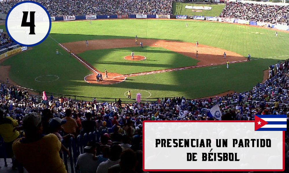Qué hacer en La Habana, Cuba - #4 Presenciar un partido de béisbol