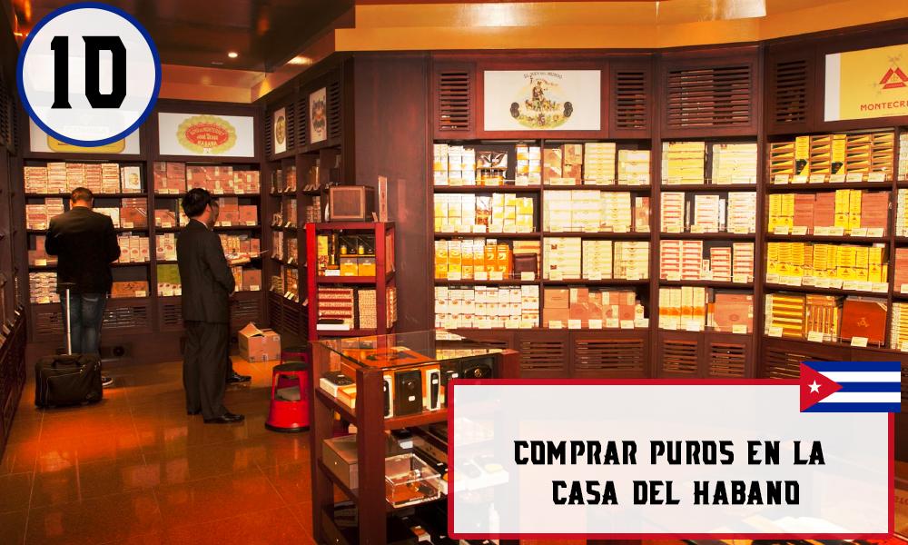 Qué hacer en La Habana, Cuba - #10 Comprar puros en la Casa del Habano