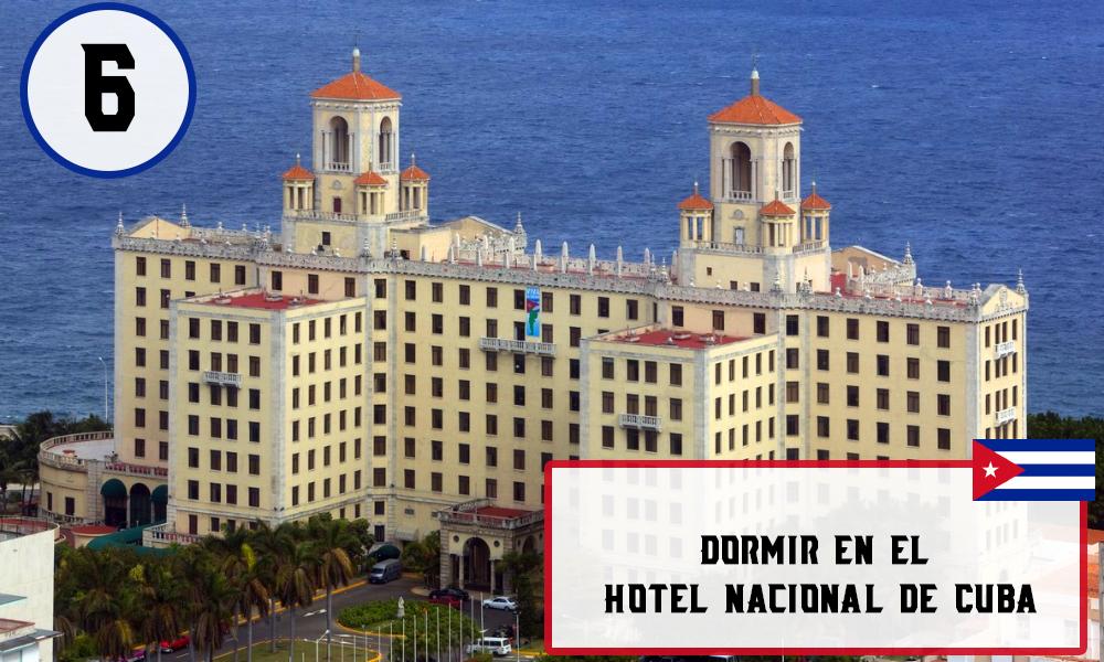Qué hacer en La Habana, Cuba - #6 Dormir en el Hotel Nacional de Cub