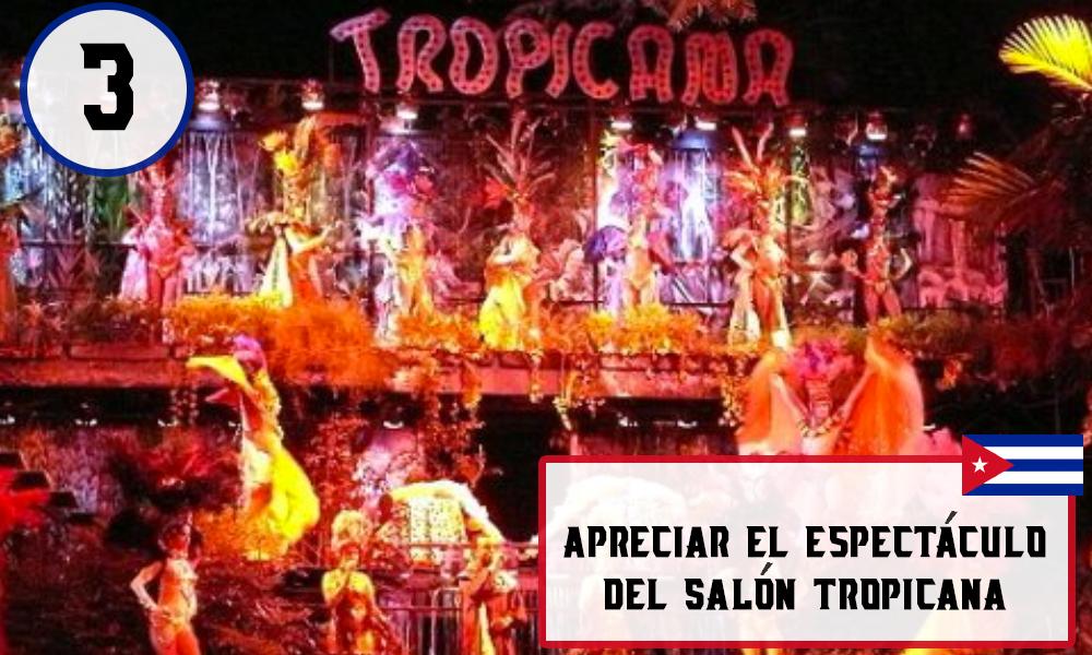 Qué hacer en La Habana, Cuba - #3 Apreciar el espectáculo del Salón Tropicana