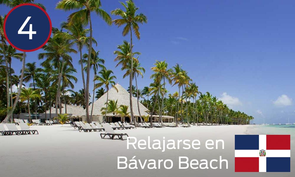 Relajarse en Bávaro Beach