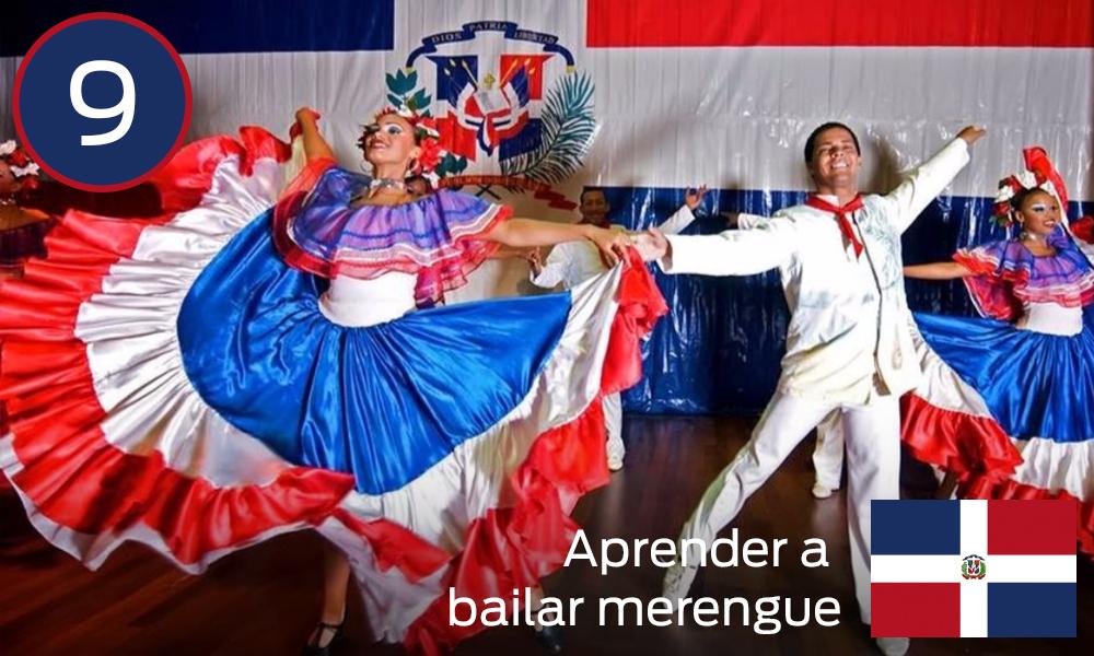 bailar merengue