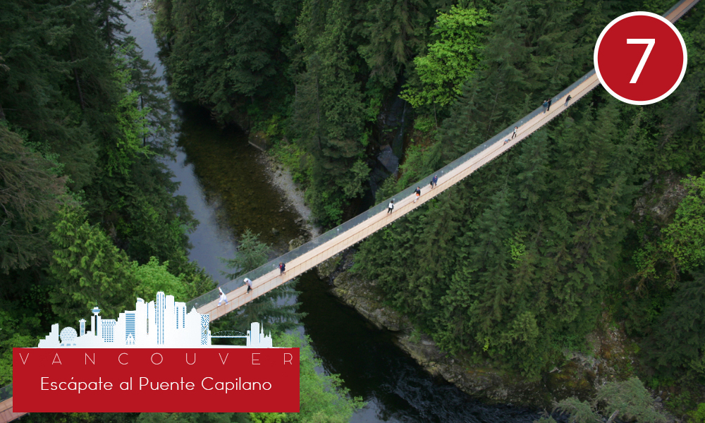 Qué hacer en Vancouver - #7 Escápate al Puente Capilano