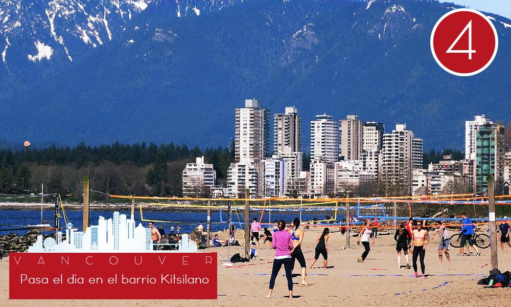 Qué hacer en Vancouver - #4 Pasa el día en el barrio Kitsilano