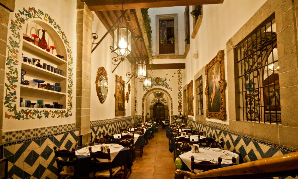 Restaurantes en la Ciudad de Méxicode comida mexicana: El Café de Tacuba