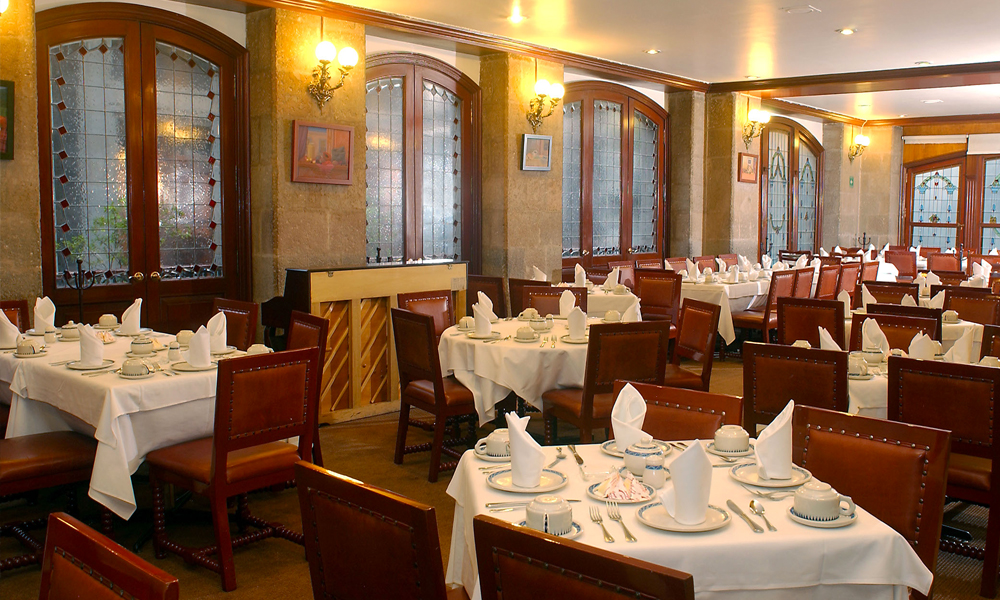 Restaurantes en la Ciudad de Méxicode comida mexicana:El Cardenal