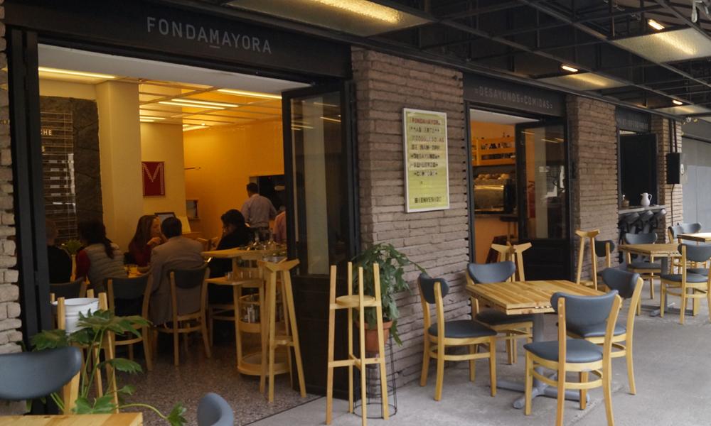Restaurantes en la Ciudad de Méxicode comida mexicana:Fonda Mayora