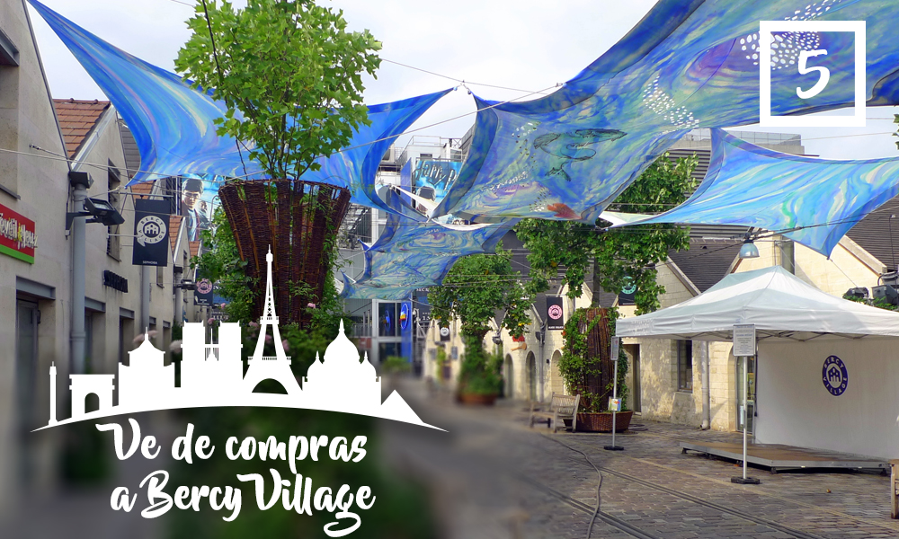 Ve de compras a Bercy Village-Qué hacer en París en una segunda visita