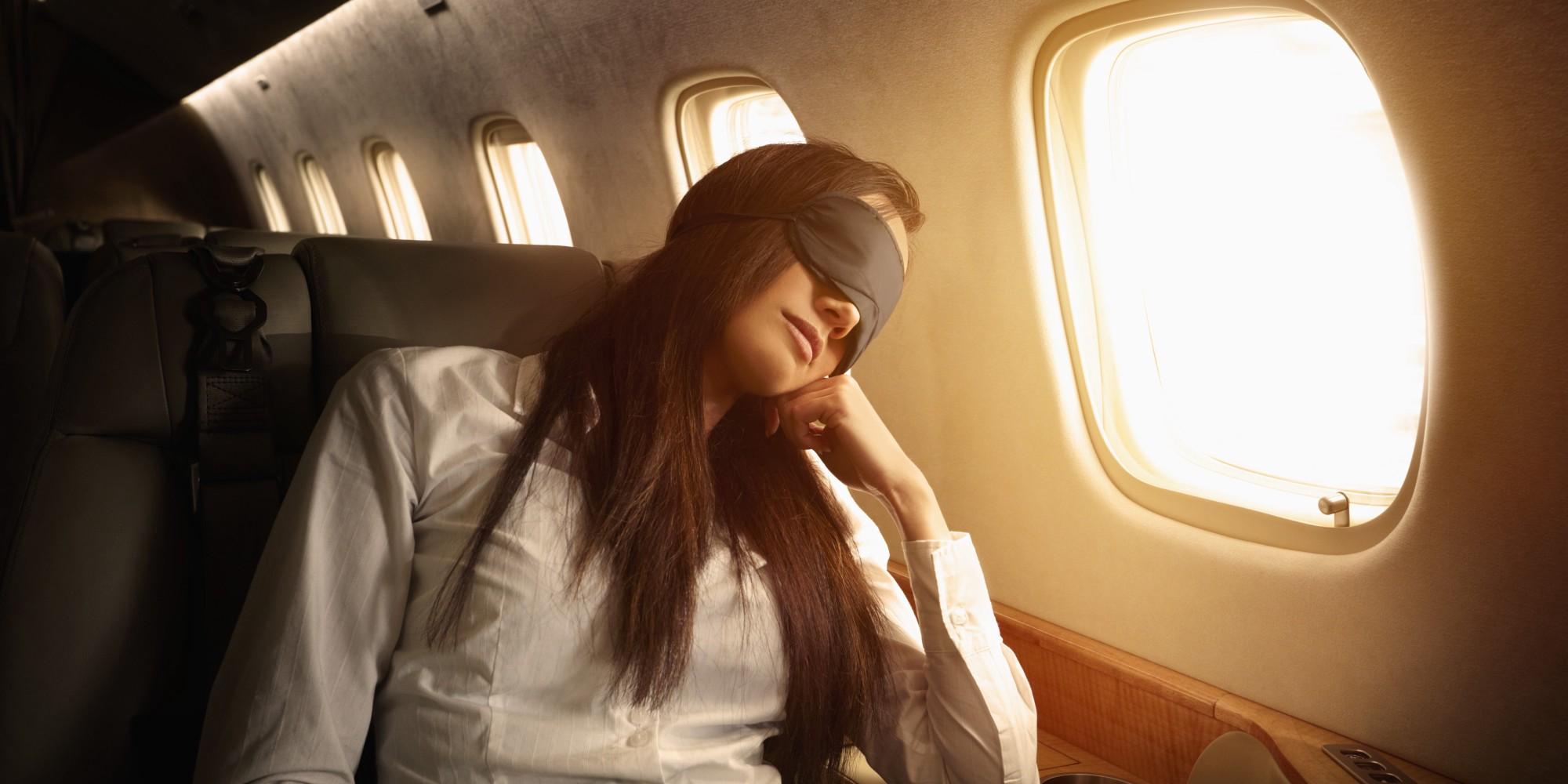 Consejos para dormir durante todo el vuelo
