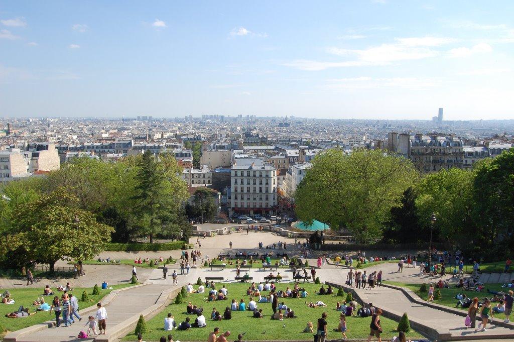 Donde y como hacer un picnic en Paris, Francia
