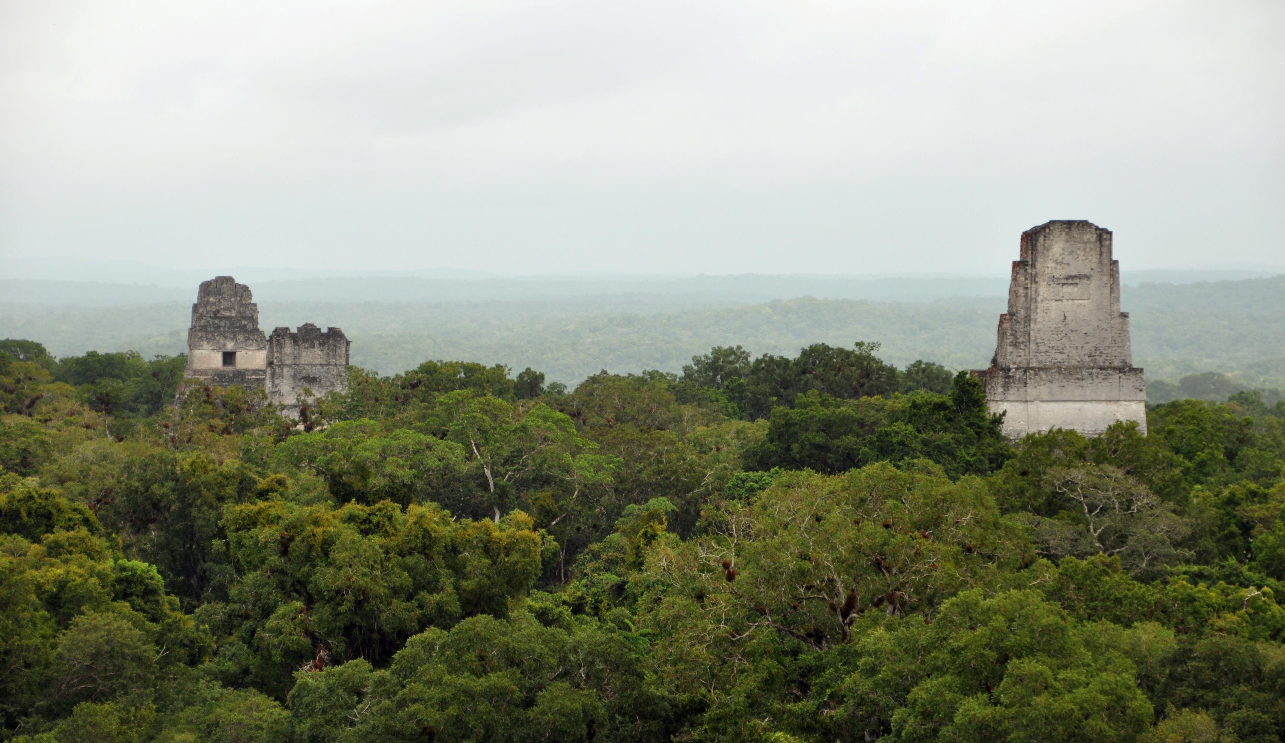 Escenarios de Star Wars que puedes visitar en el mundo Parque Nacional de Tikal, Guatemala