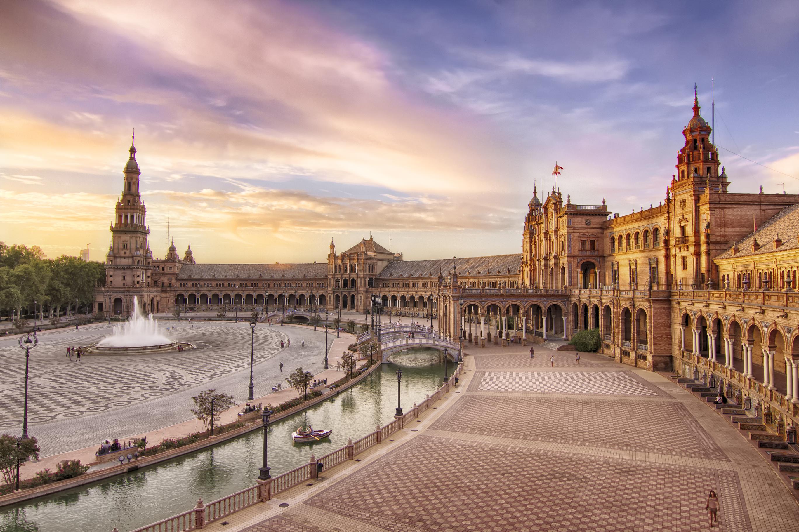 Escenarios de Star Wars que puedes visitar en el mundo Plaza de España, Sevilla