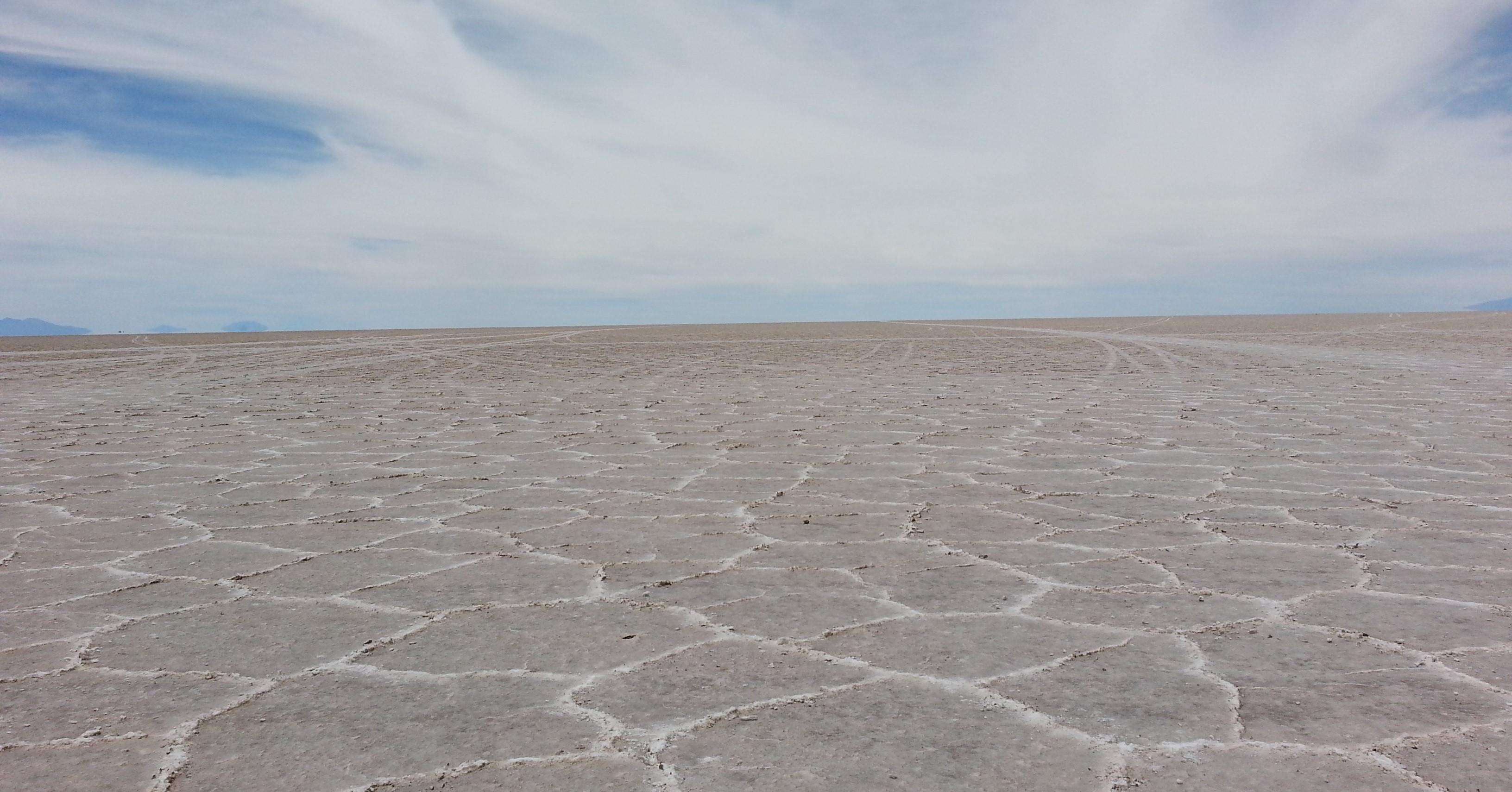 Escenarios de Star Wars que puedes visitar en el mundo Salar de Uyuni, Bolivia